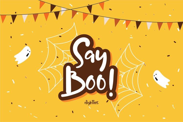 Say Boo! Halloween EXTRA BONUS