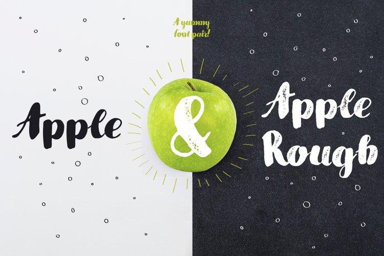 Apple & Apple Rough example image 1