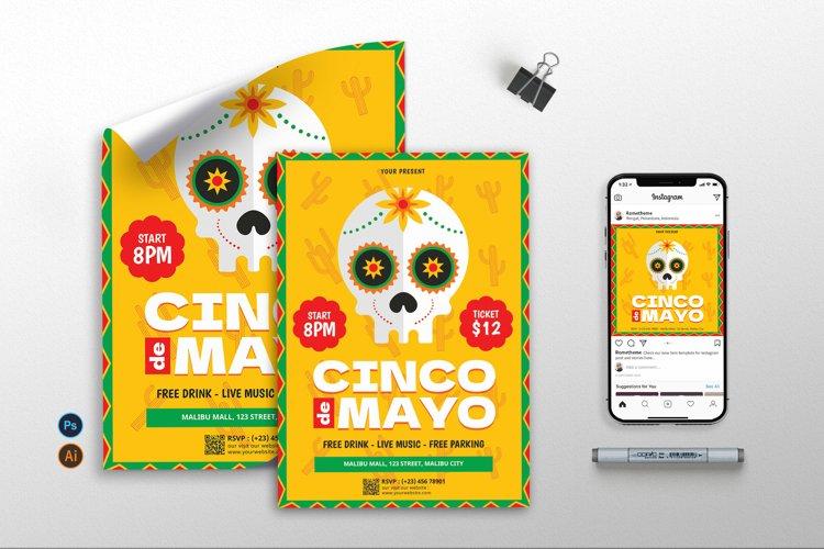 Cinco De Mayo vol.1 - Flyer, Poster, Instagram RB