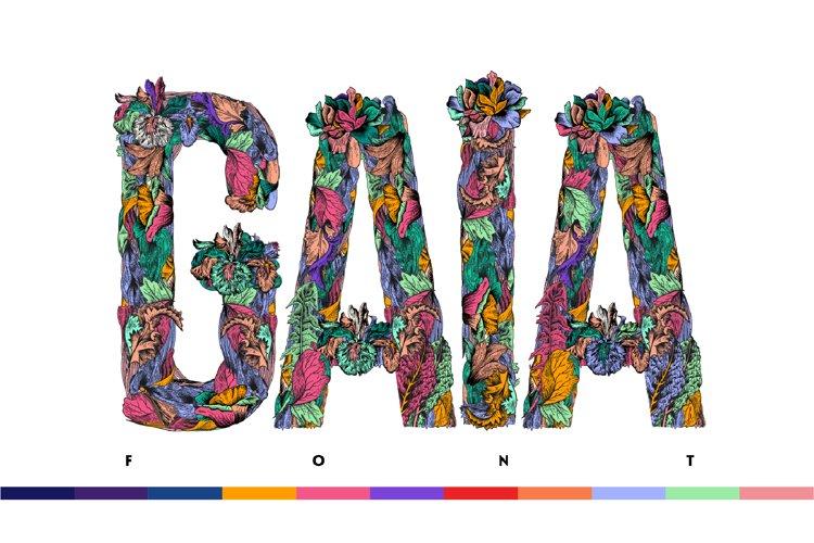 Gaia Font example image 1