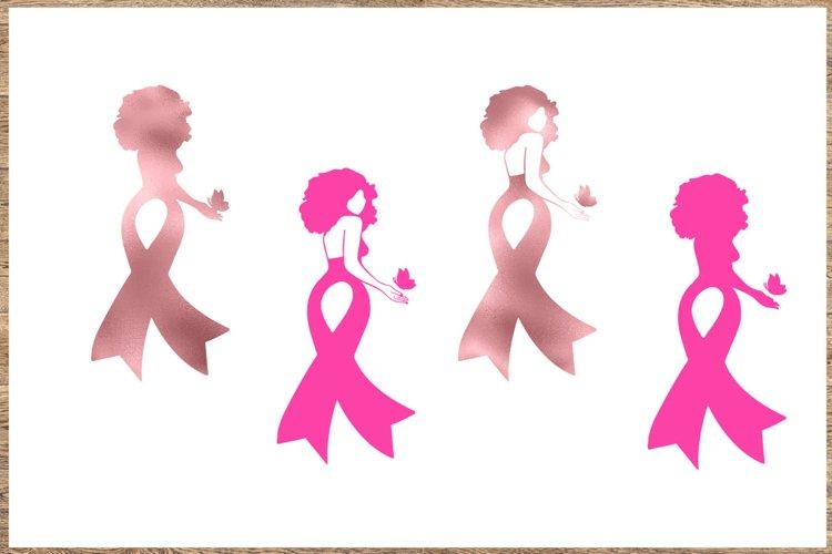 Breast cancer Bundle SVG 4Designs Cancer awareness SVG example image 1