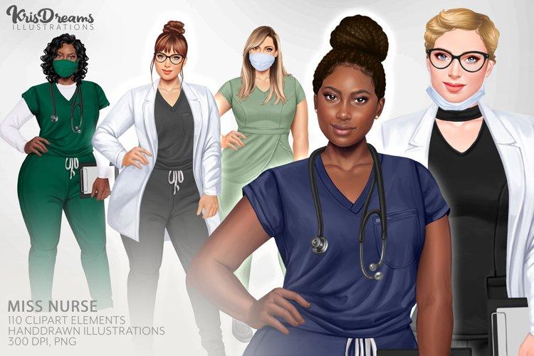 HealthCare Clipart, Nurse Clipart PNG, Hospital Clipart,