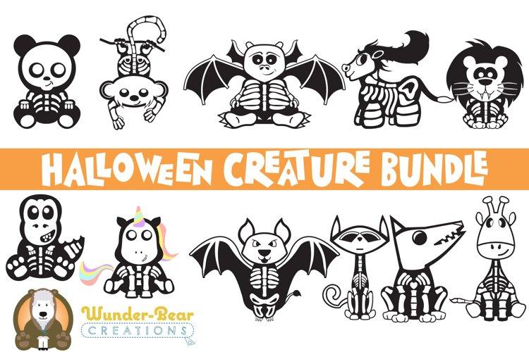 Halloween Bundle - Cute Halloween SVG Creatures!