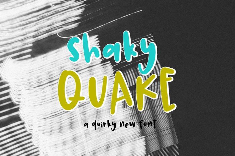 Shaky Quake example image 1