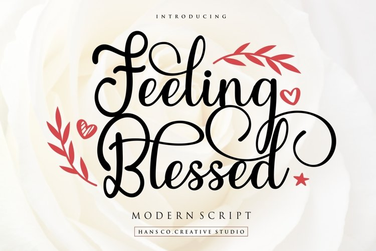 Feeling Blessed example image 1