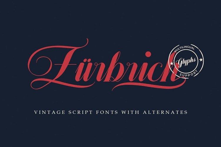 Zürbrich Decorative Script