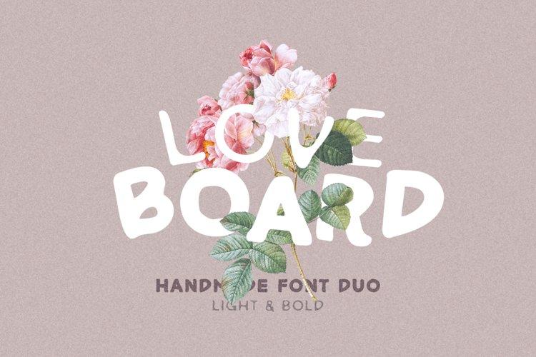 Love Board - Handmade Font example image 1