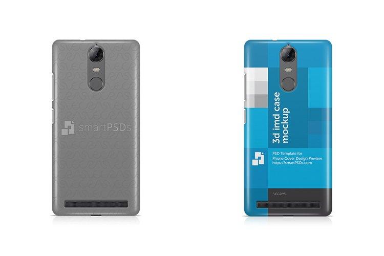 Lenovo K5 Note 3d IMD Mobile Case Design Mockup 2016 example image 1
