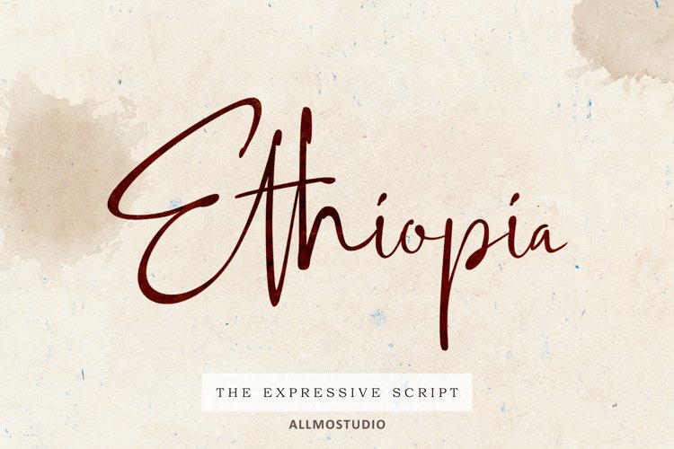 Ethiopia Font example image 1