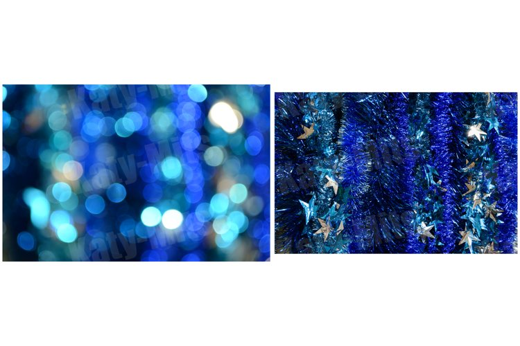 2 Abstract blue backgrounds