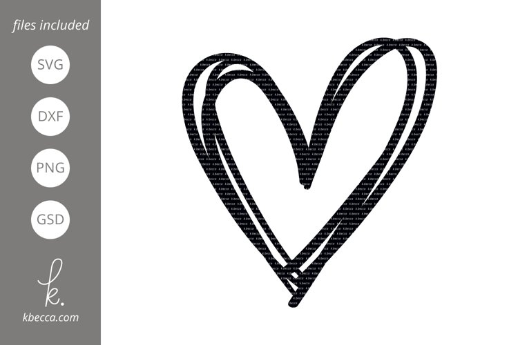 Sketched Heart Svg Cut Files 192996 Illustrations Design Bundles