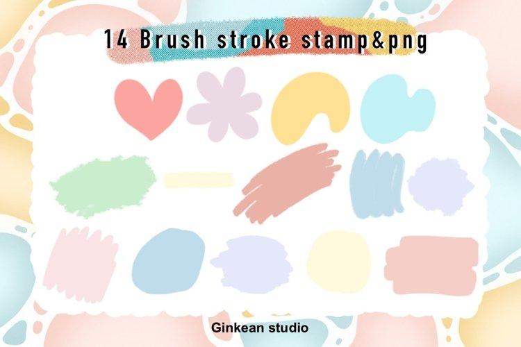 Paint brush stroke stamp , brush stroke stamp, keychain png