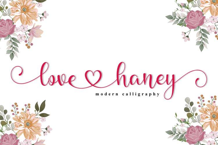 love haney example image 1