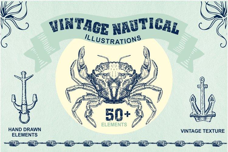 Sea & Nautical Vintage Illustrations