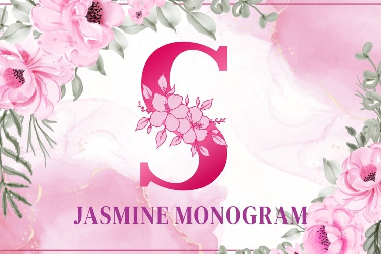 Jasmine Monogram