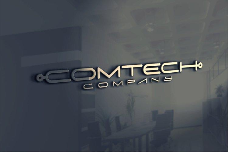 Digitechno - Futuristic Font example 3