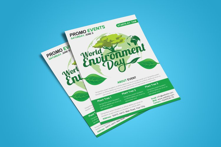 Environment Day Flyer