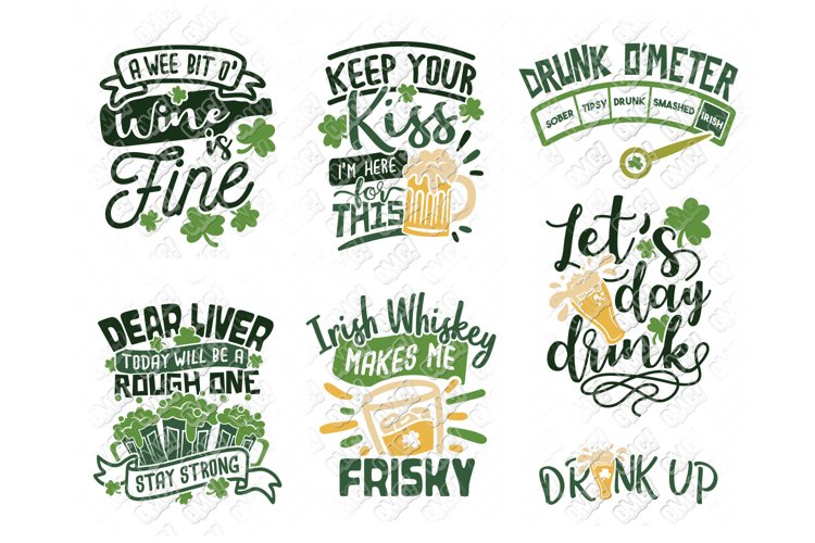 St Patricks Day Drinking SVG in SVG, DXF, PNG, EPS, JPEG example image 1