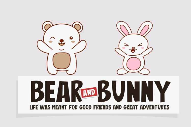 Bear And Bunny example image 1