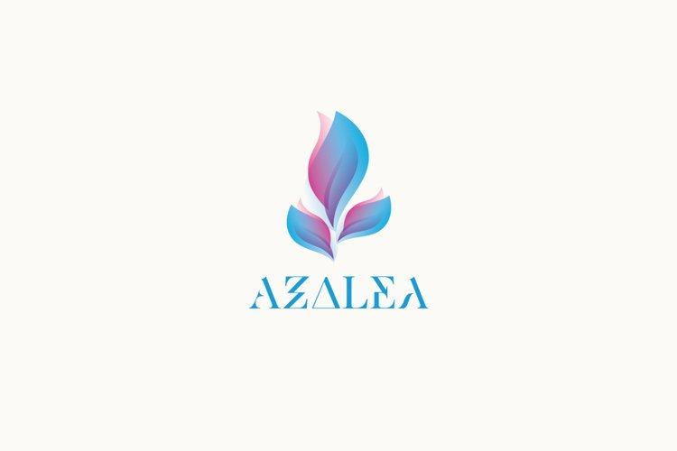 Azalea Logo Template