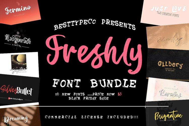 Sale Bundle 10 plus 7 fonts free !!!!!! example image 1
