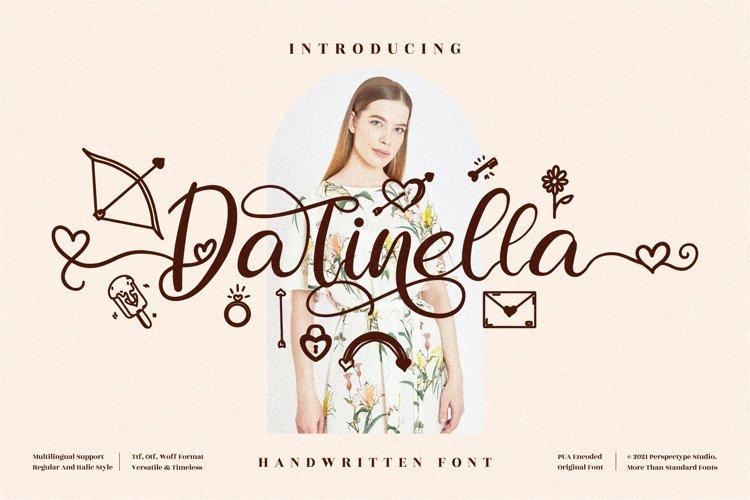 Darinella - Beautiful Script Font example image 1