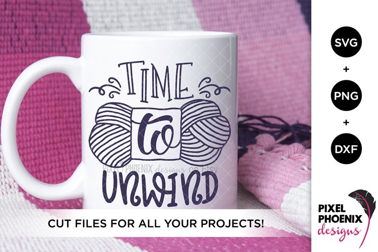 Time to Unwind SVG, Craft SVG example image 1