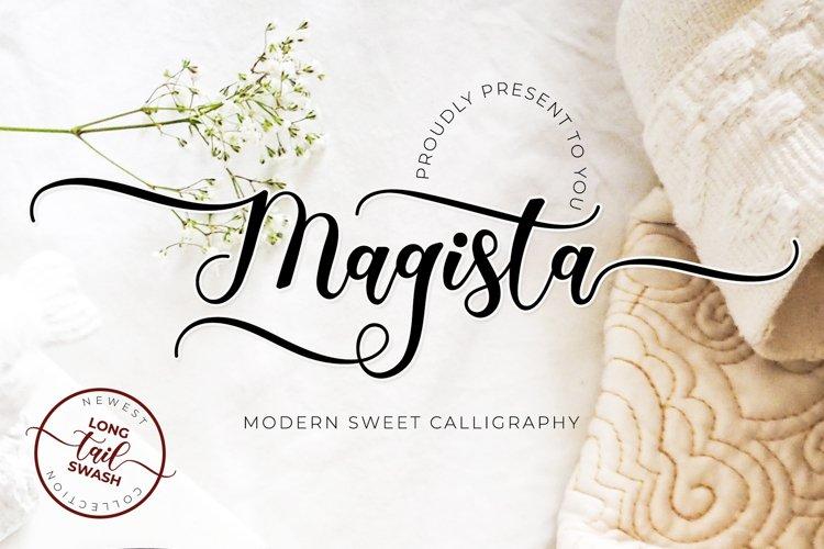 Magista - Long Tail Swash Calligraphy