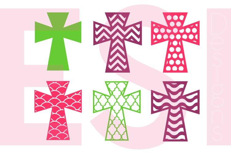 Patterned Cross Designs - Set 1