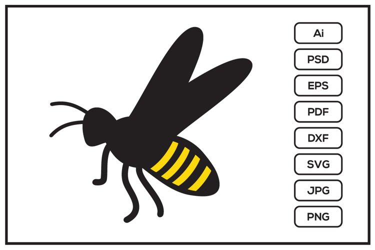 Bee design illustration