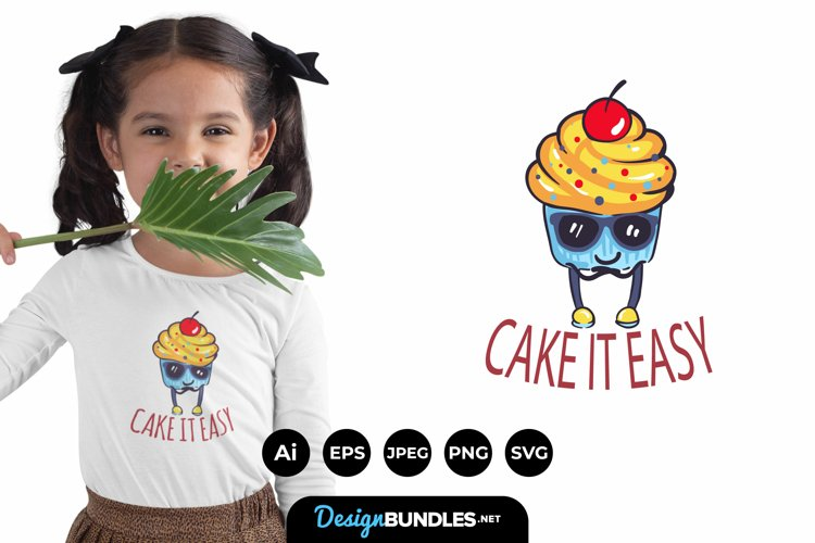 Cool Cute Cupcakes for T-Shirt Design example image 1