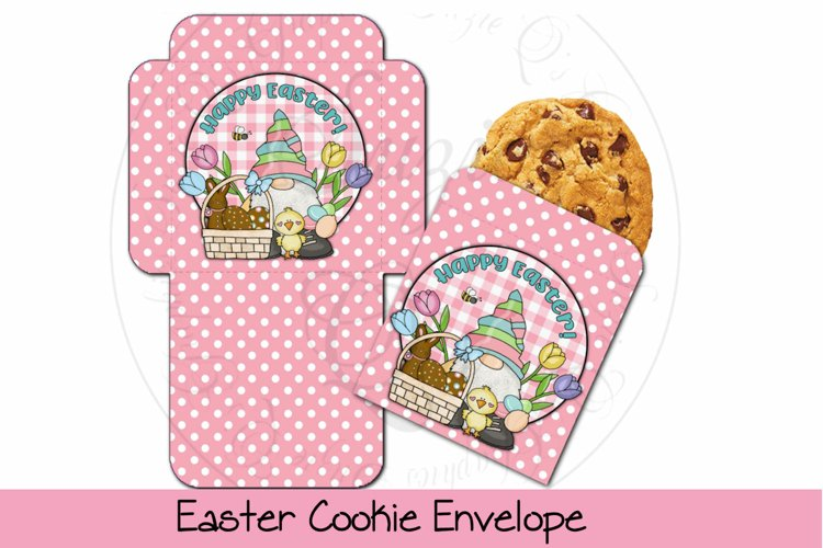 Easter Cookie Envelope example image 1