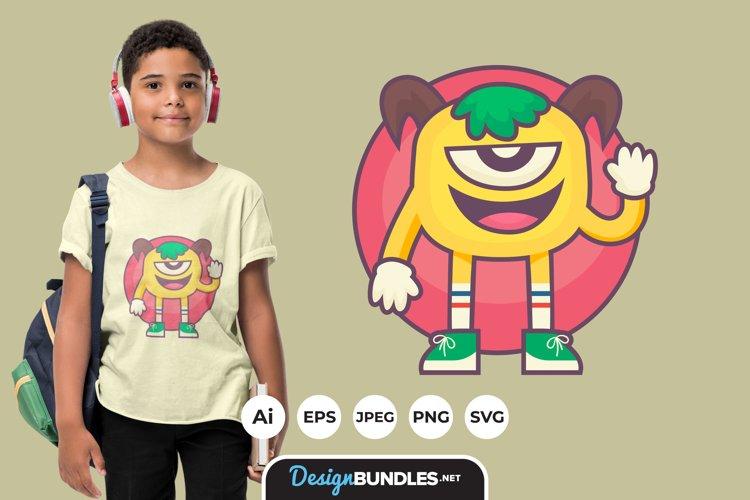 Monster Clipart for T-Shirt Design