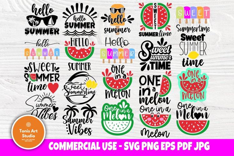 Summer SVG Bundle, Beach Svg, Hello Summer Svg, Quotes Svg