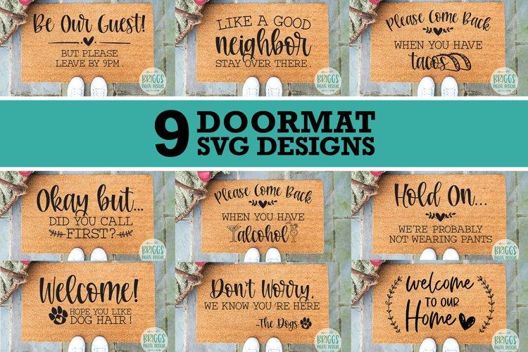 Funny Doormat SVG Bundle   Housewarming gift svg