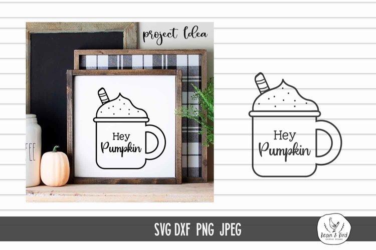 Hey Pumpkin Coffee Mug SVG