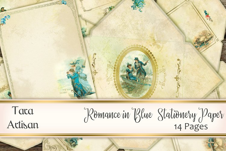 Romance in Blue example image 1