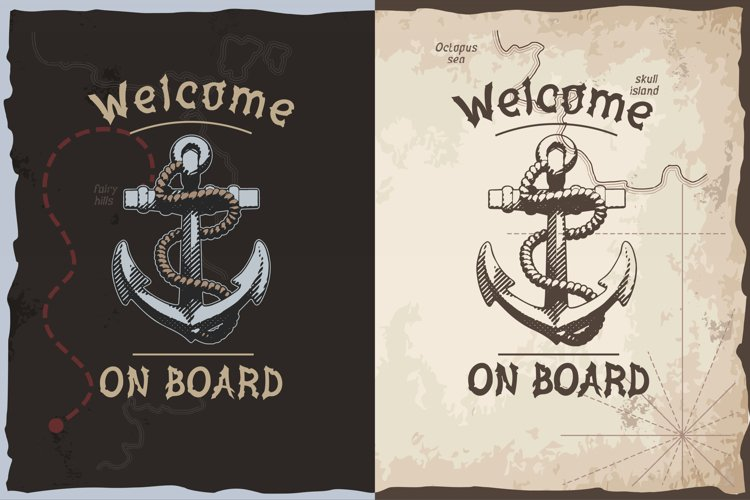 Welcome on board t-shirt design