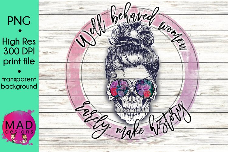 Colorful Empowering Powerful Colorful Floral Sugar Skull