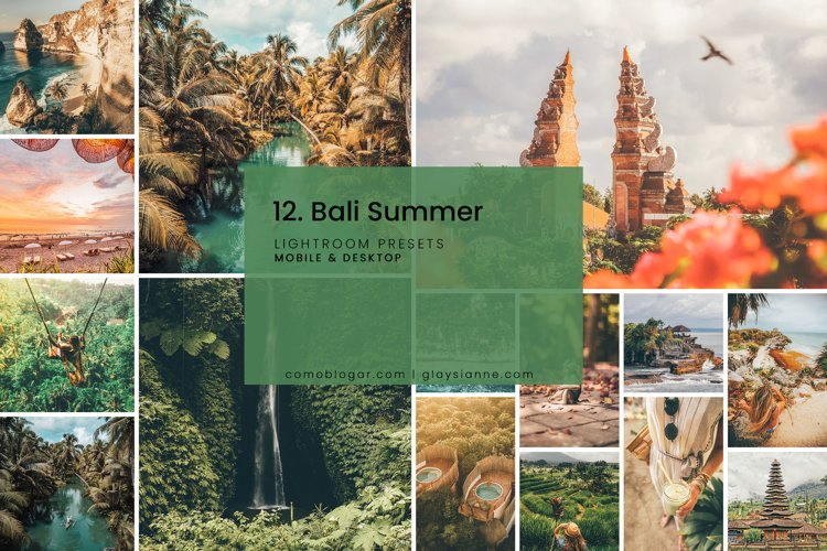 12. Bali Summer - Lightroom Presets example image 1