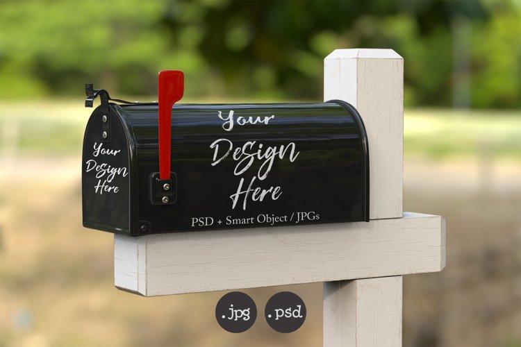Mailbox Mockup bundle - customise color - includes PSD