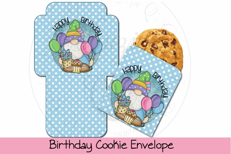 Birthday Cookie Envelope example image 1