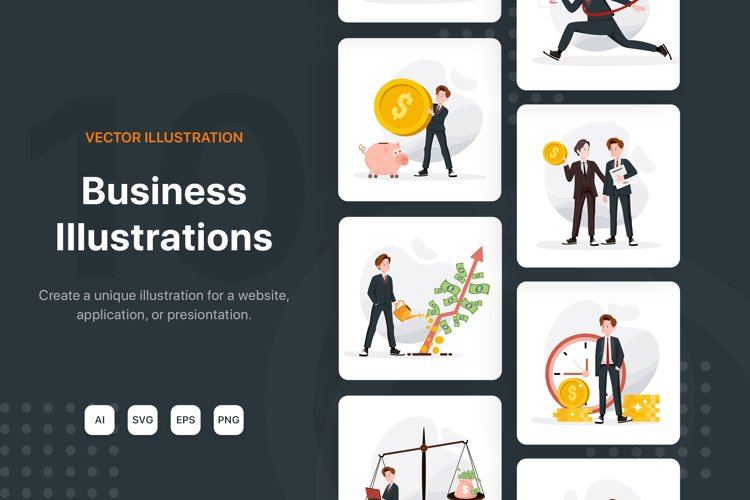 Business & Finance Illustration