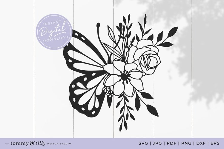 Butterfly SVG Cut File for Cricut and Silhouette