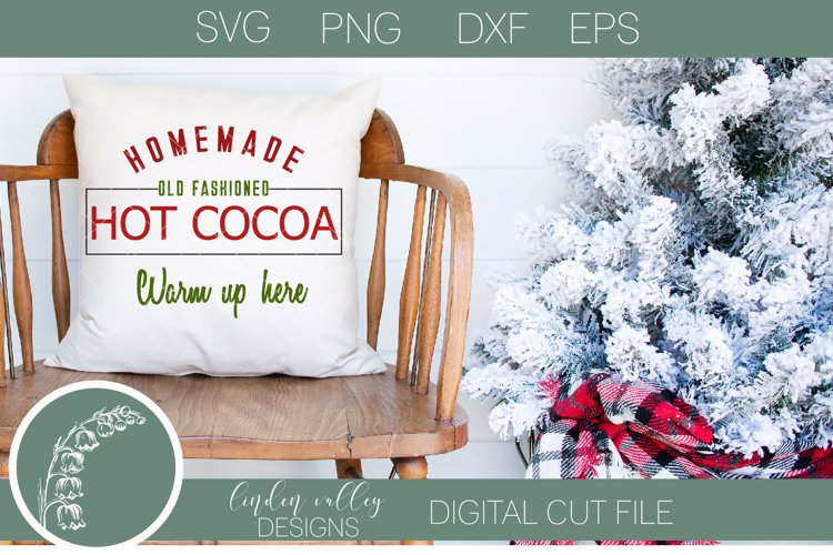 Homemade Hot Cocoa SVG example image 1