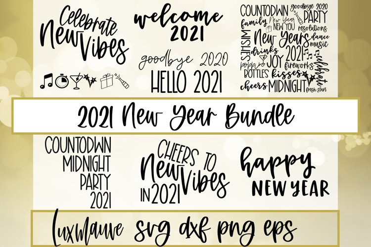 2021 New Year Bundle example image 1