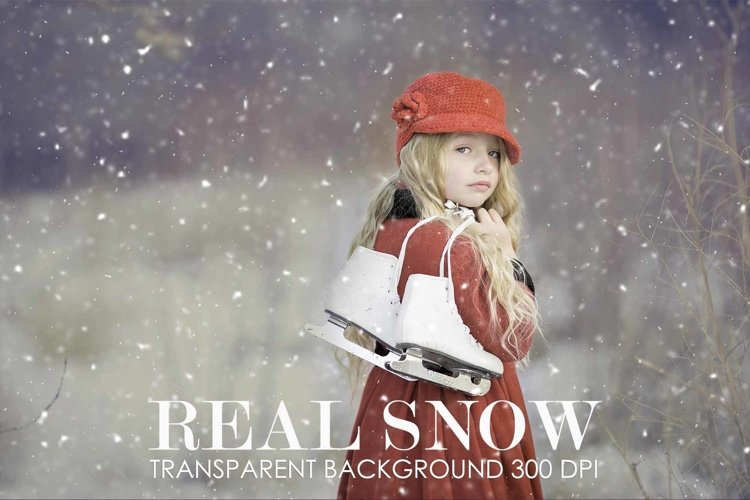 Snow overlay, snow overlay for photoshop example image 1