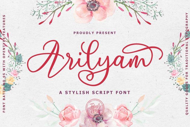 Arilyam Script