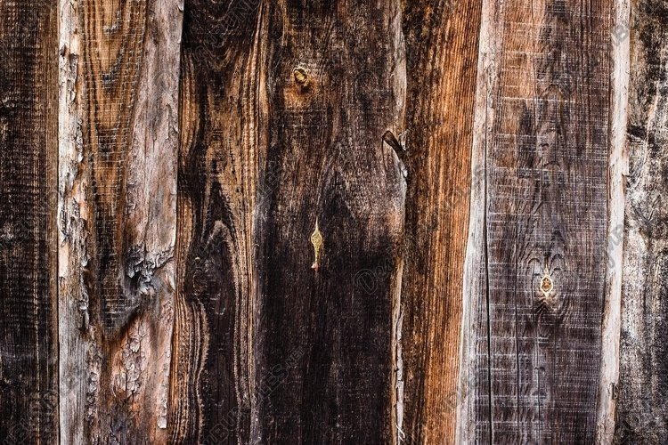 rustic background from old textured wood example image 1