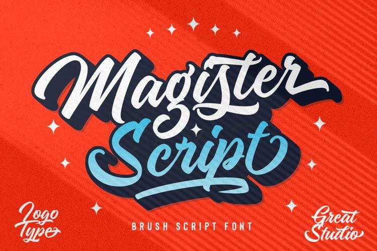 Magister Script example image 1